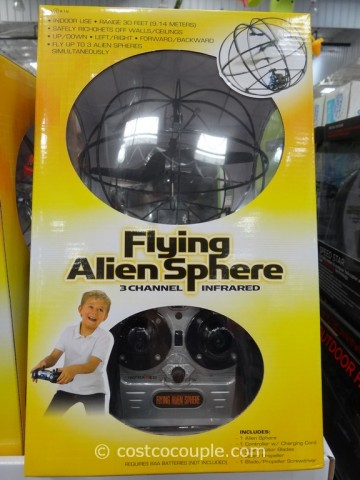 Flying Alien Sphere Costco 1