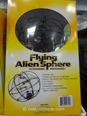 Flying Alien Sphere Costco 2