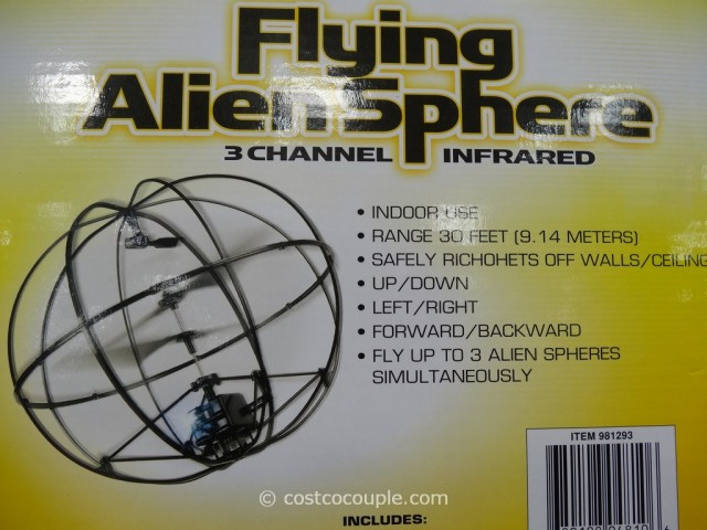 Flying Alien Sphere Costco 3