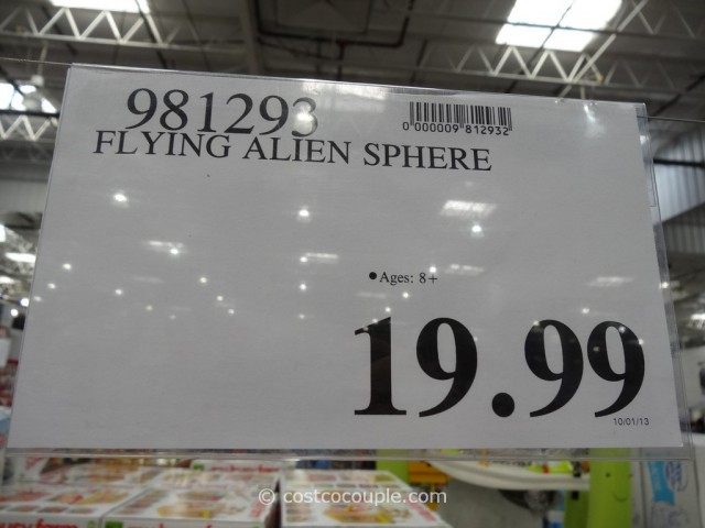 Flying Alien Sphere Costco 4