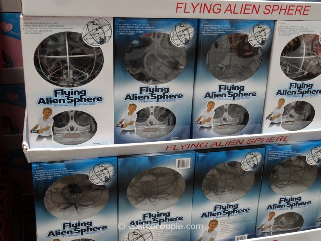 Flying Alien Sphere Costco 5