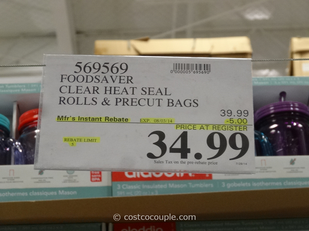 Foodsaver Replacement Rolls And Bags
