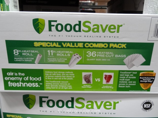 FoodSaver Replacement Rolls and Bags Costco 2