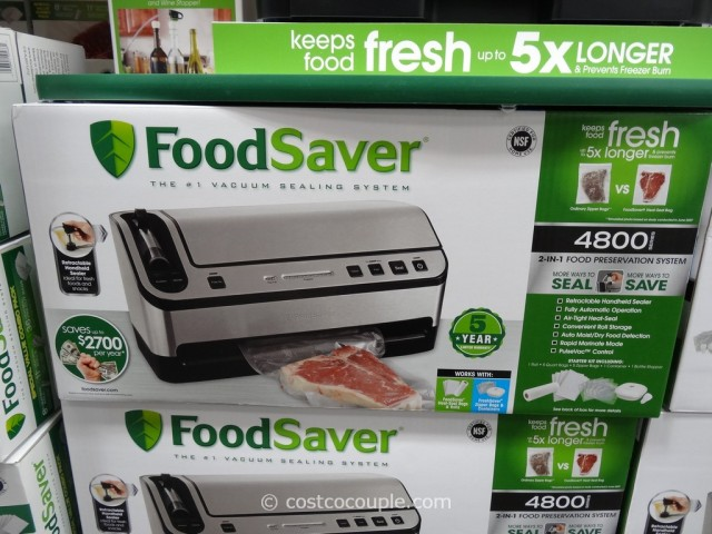 Foodsaver 4800 Vacuum Sealing System Costco 1