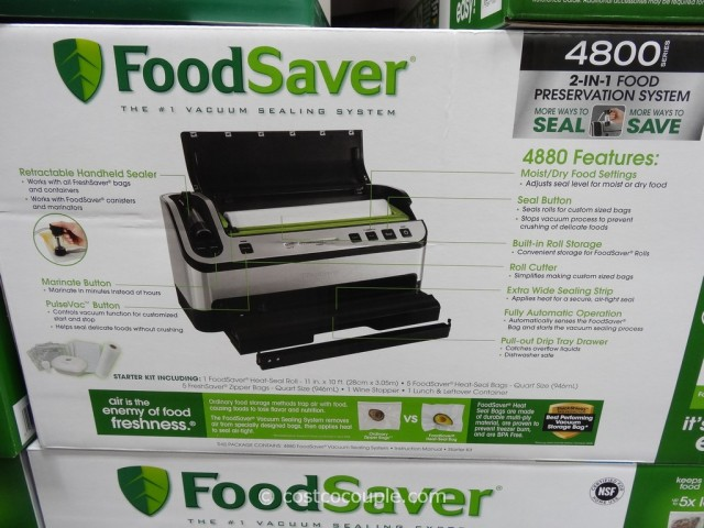 Foodsaver 4800 Vacuum Sealing System Costco 7