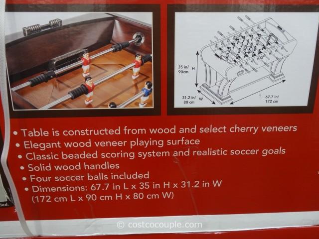 Foosball Table Costco 3