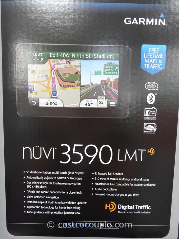 Garmin Nuvi 3590 LMT GPS Costco 2