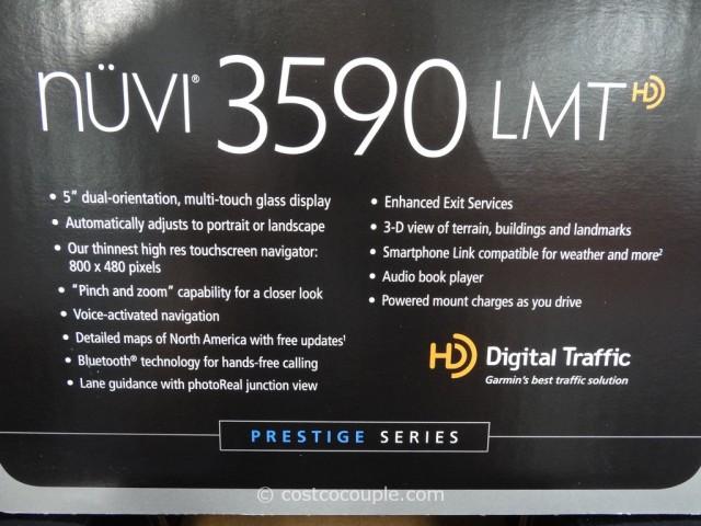 Garmin Nuvi 3590 LMT GPS Costco 3