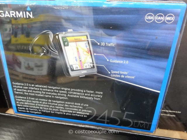 Garmin Nuvi GPS 2455LMT Costco 3