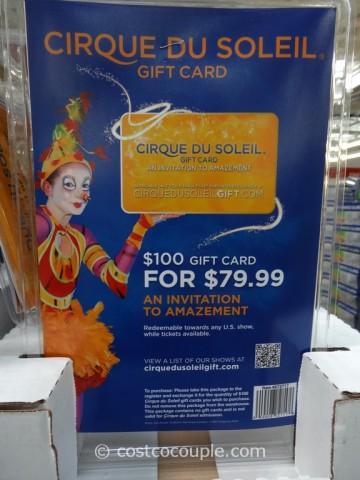 Gift Card Cirque Du Soleil Costco 1