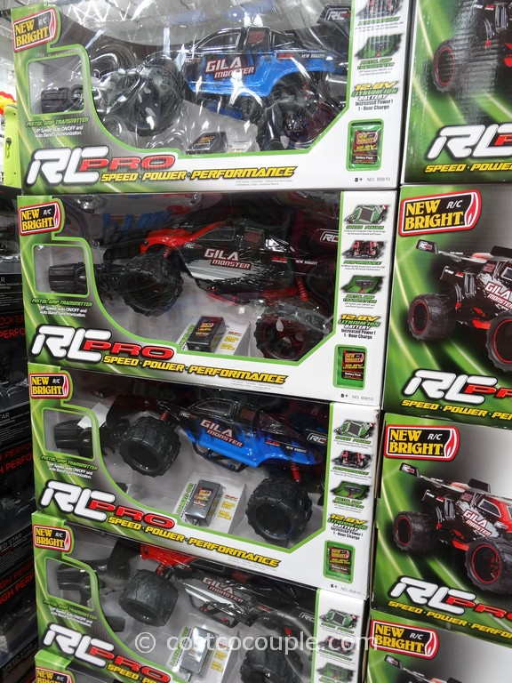 Costco Toy Cars : Gila monster rc pro