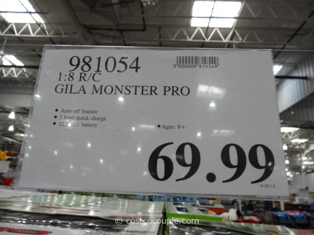 Gila Monster RC Pro Costco 2