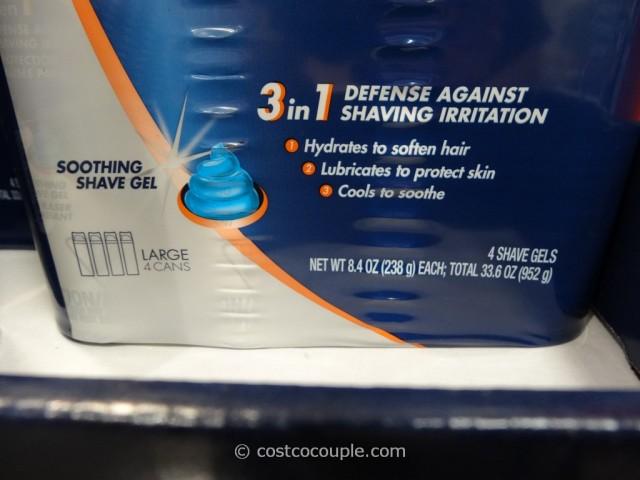 Gillette Comfort Advantage Gel Costco 2
