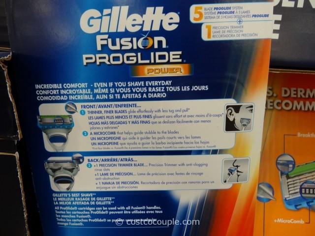 Gillette Fusion Proglide Power Cartridges Costco 2