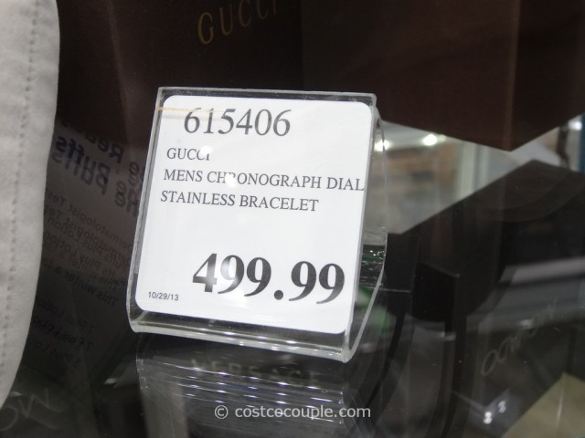 Gucci Mens Chronograph Watch Costco 1