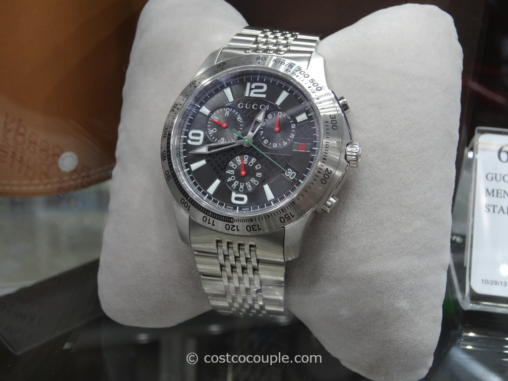 Gucci Mens Chronograph Watch Costco 2