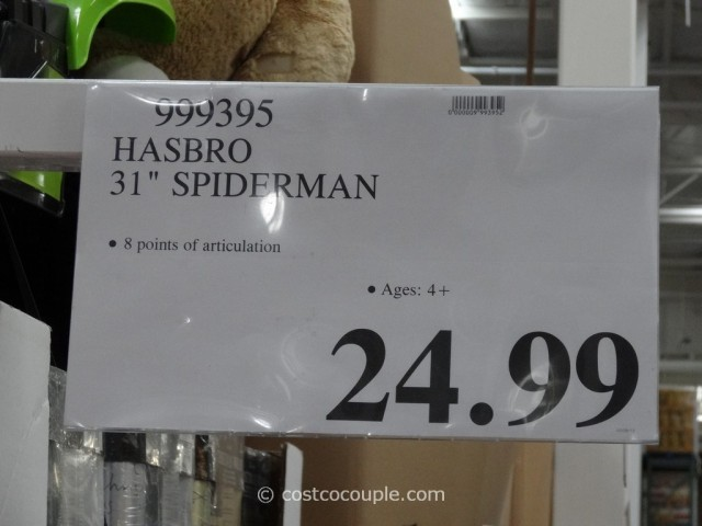 Hasbro 31 Inch Spiderman Costco 4