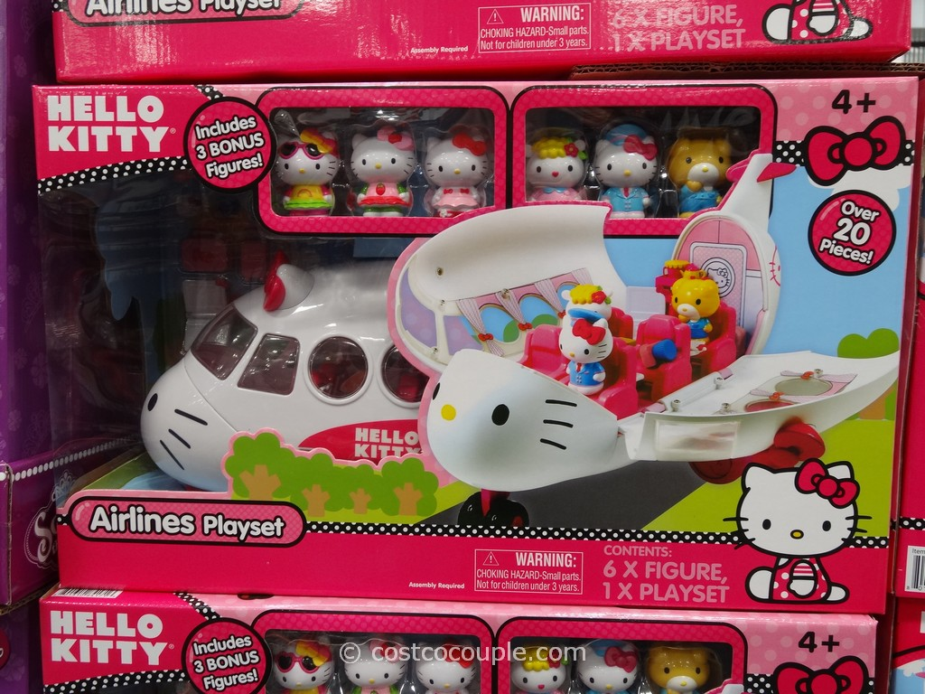 Hello Kitty Airlines Playset Costco 1