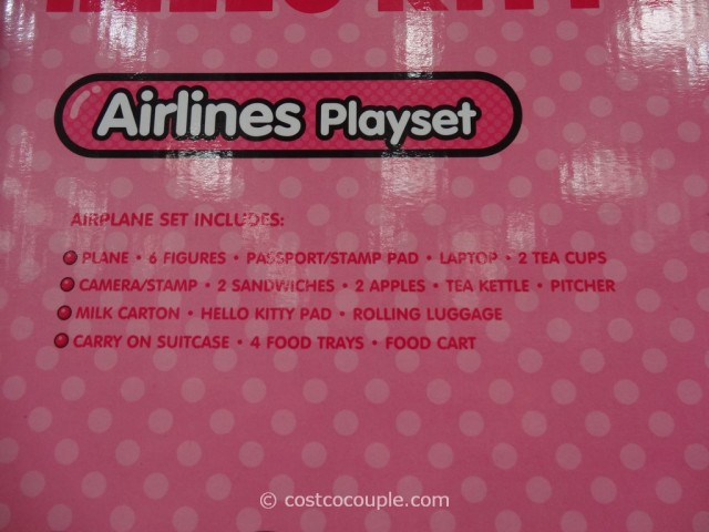 Hello Kitty Airlines Playset Costco 3