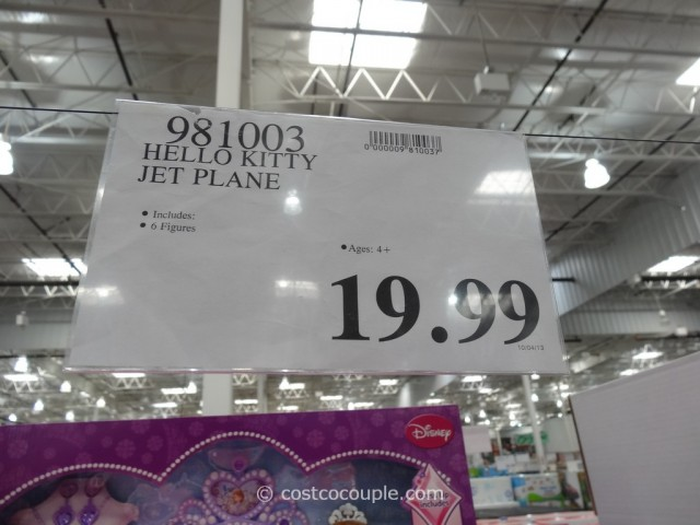 Hello Kitty Airlines Playset Costco 4