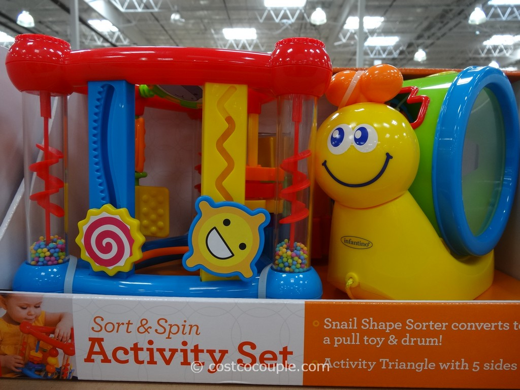 Infantino Sort and Spin Activity Set Costco 2