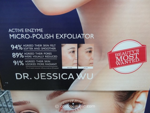 The Dr. Jessica Wu Active Enzyme Micro-Exfoliator is available in a 4