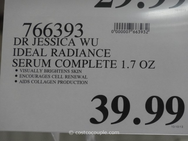 Jessica Wu Ideal Radiance Serum Costco 1