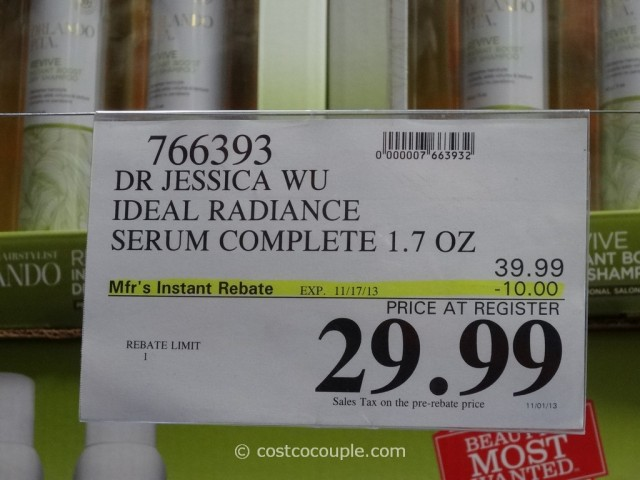 Jessica Wu Ideal Radiance Serum Costco