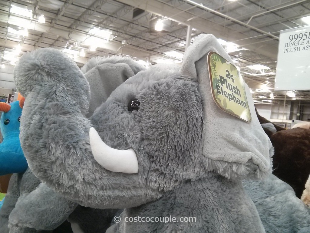 Jungle Animal Plush Toy Costco 2