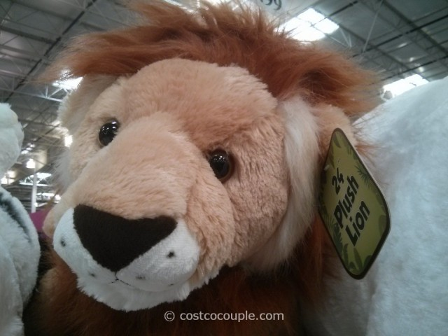 Jungle Animal Plush Toy Costco 3