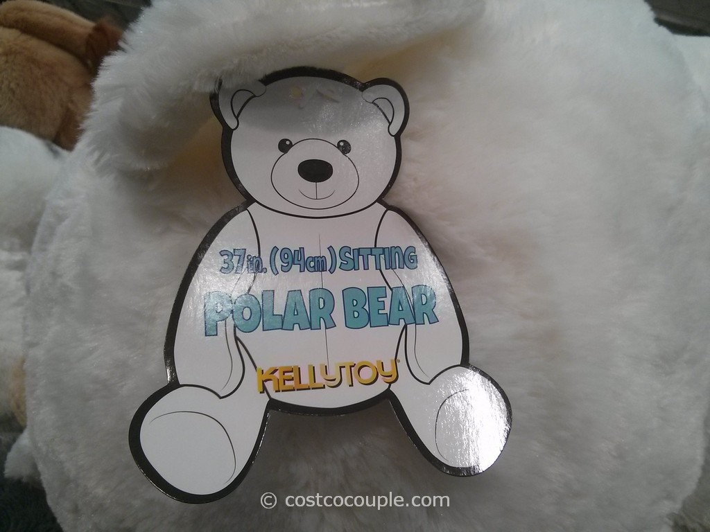 Kellytoy 37 Inch Sitting Polar Bear