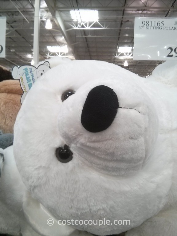 Kelly Toy 37-Inch Sitting Polar Bear Costco 4
