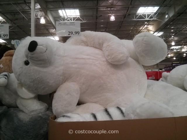 Kelly Toy 37-Inch Sitting Polar Bear Costco 5