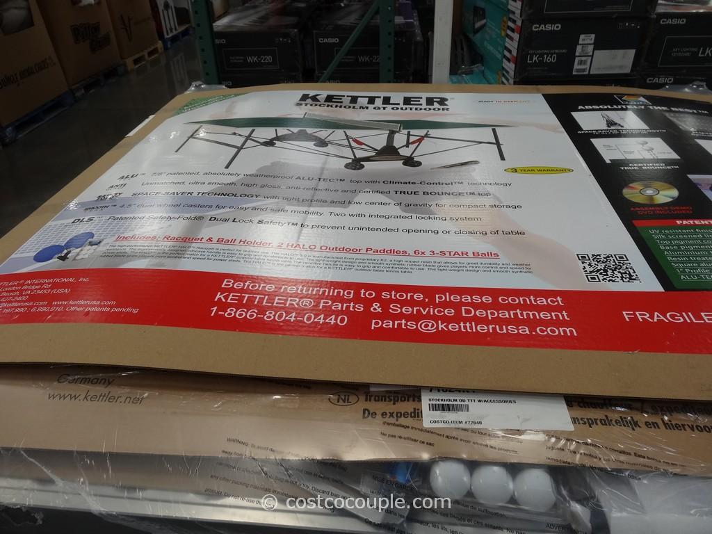 Kettler Table Tennis Set