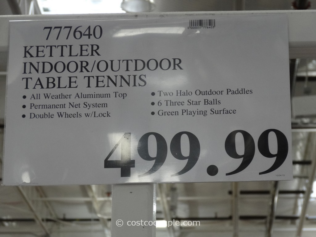 Superieur ... Kettler Table Tennis Set Costco 3