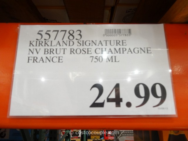 Kirkland Signature Brut Rose Champagne Costco 2
