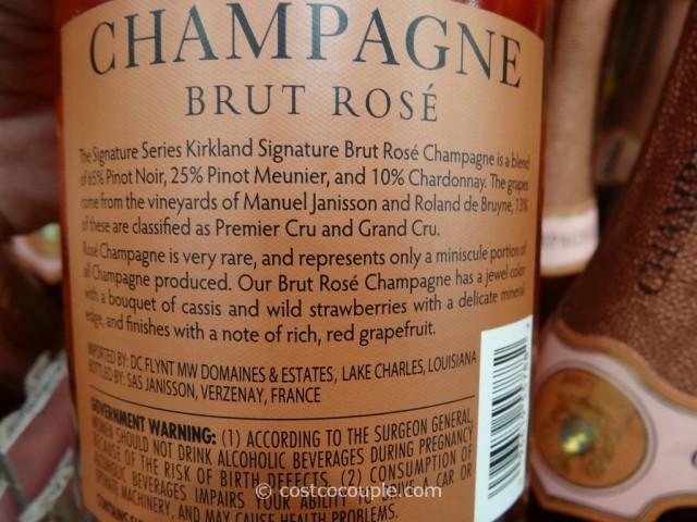 Kirkland Signature Brut Rose Champagne Costco 3