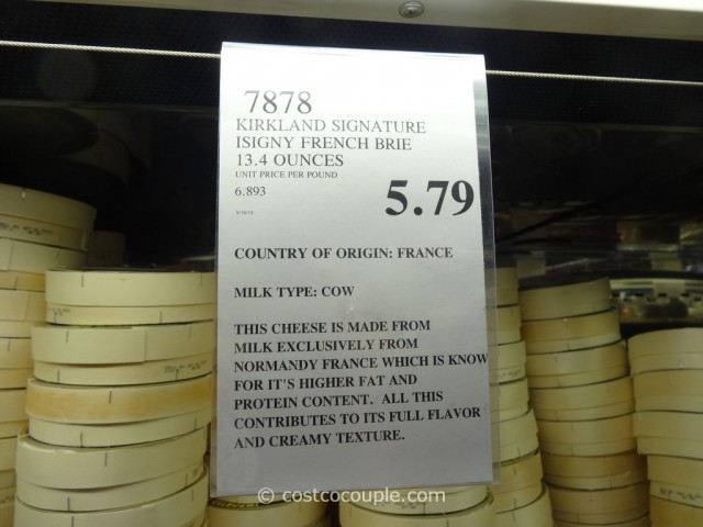 Kirkland Signature Isigny French Brie Costco 1