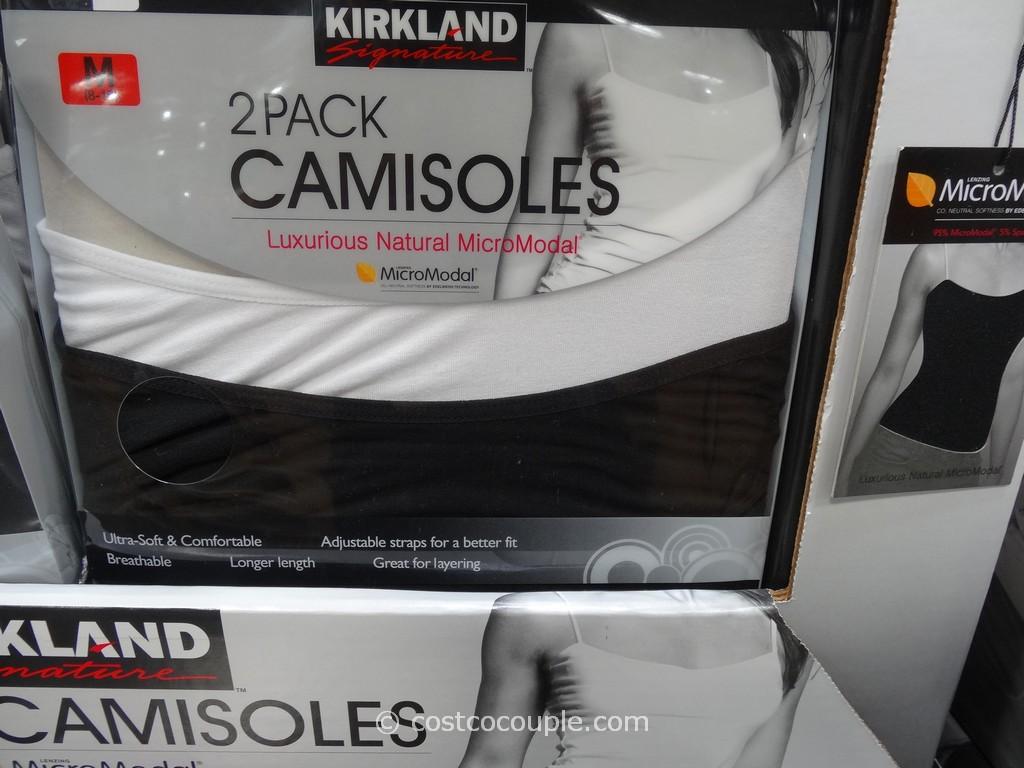 Kirkland Signature Modal Camisoles Costco 1. Kirkland Signature MicroModal Camisoles