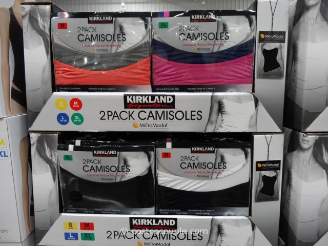 Kirkland Signature Modal Camisoles Costco 4