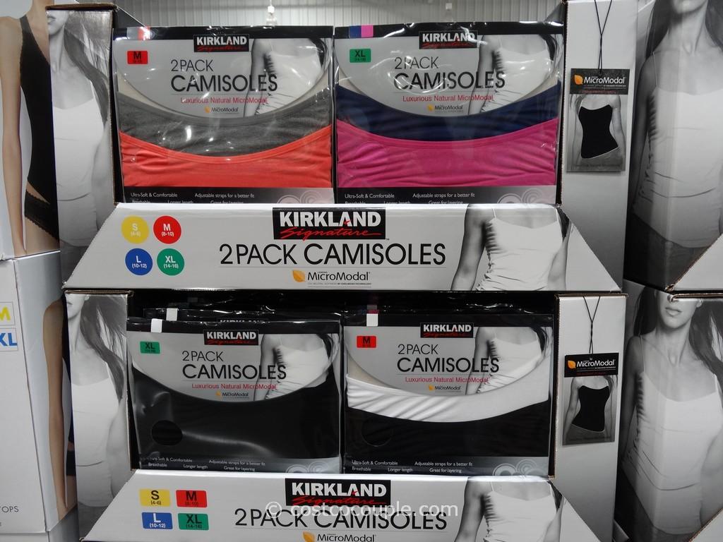 Kirkland Signature Modal Camisoles Costco 4. Kirkland Signature MicroModal Camisoles