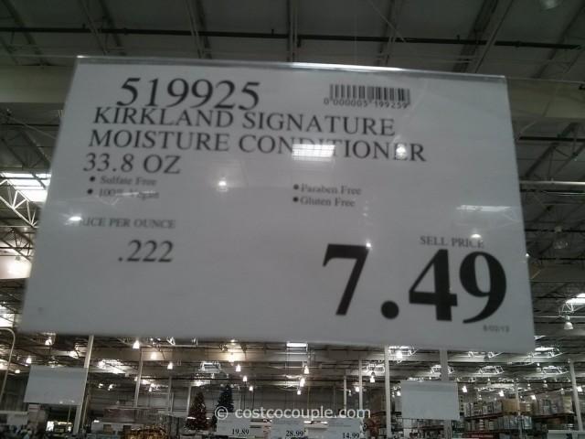 Kirkland Signature Moisture Conditioner Costco 1