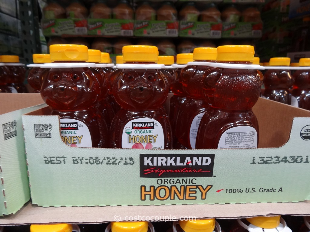 Kirkland Signature Organic Honey Costco 1