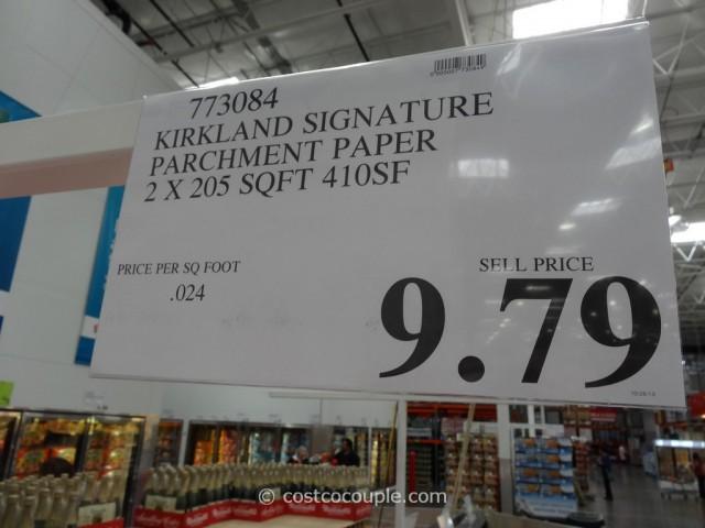 Kirkland Signature Parchment Paper 2-Pack Costco 1