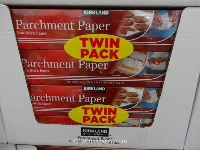 Kirkland Signature Parchment Paper 2-Pack Costco 4