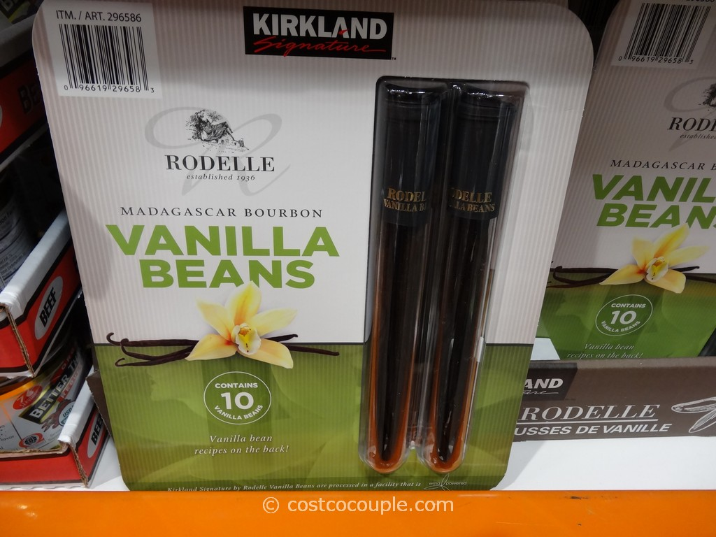 Kirkland Signature Vanilla Beans Costco 2
