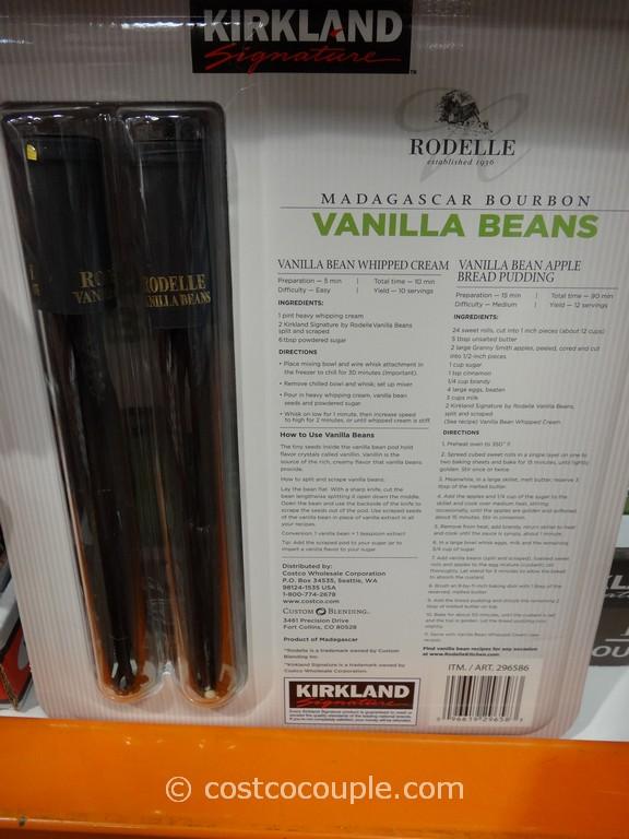 vanilla beans costco