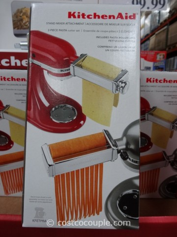 KitchenAid Pasta Roller and Cutter Set Costco 2