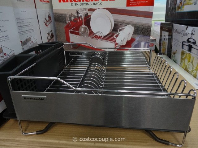 KitchenAid Stainless Steel Dish-Drying Rack Costco 5