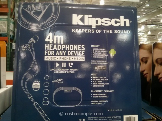 Klipsch M4 Universal In Ear Headphones Costco 2